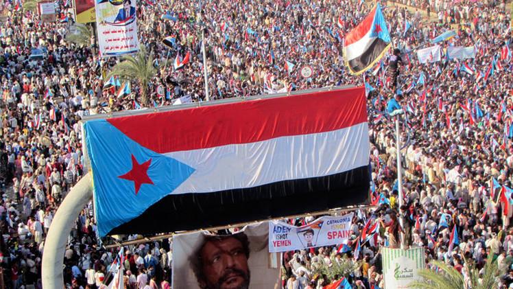 محتجون يمنيون يطالبون بوقف تصدير النفط من جنوب البلاد