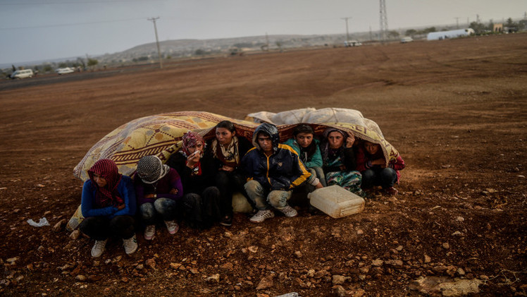 مسؤول تركي: لا وجود للمدنيين في عين العرب