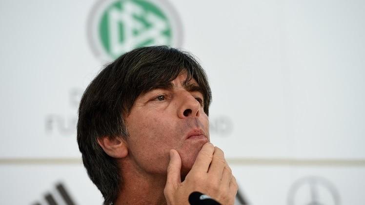 لوف يشعر بالإحباط بعد نتائج ألمانيا في تصفيات يورو 2016