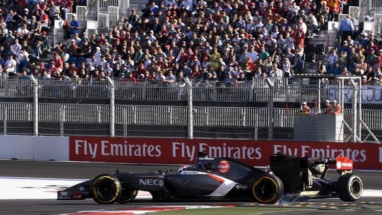 166 ألف شخص حضروا جائزة سوتشي الكبرى للفورمولا-1