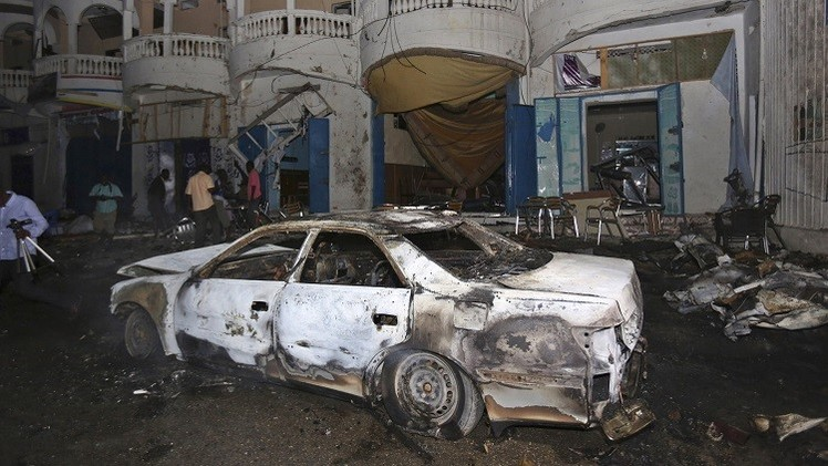 5 قتلى و7 جرحى بانفجار سيارة ملغومة في مقديشو