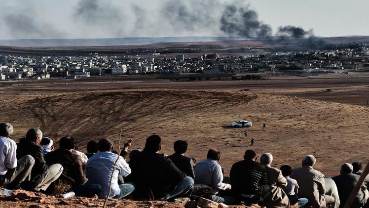 أكراد عين العرب يسلمون التحالف معلومات عن مواقع