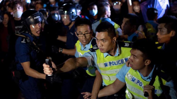 بكين: لا يحق لواشنطن التدخل في شؤون هونغ كونغ