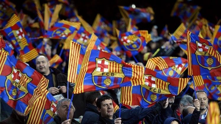 برشلونة باق في الدوري الإسباني