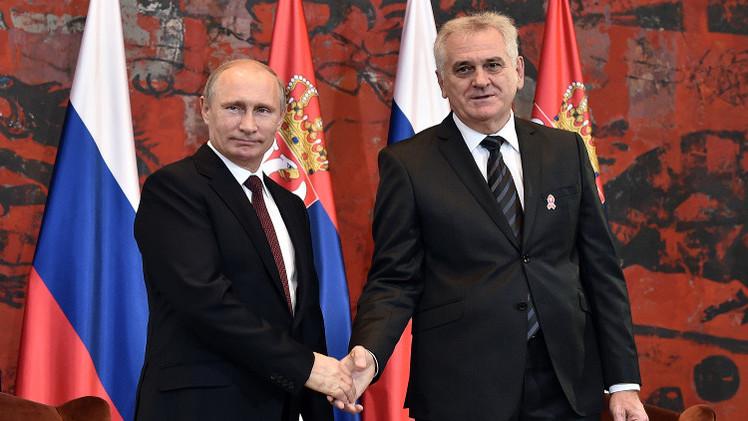 بوتين يجدد التأكيد على ثبات موقف روسيا إزاء كوسوفو