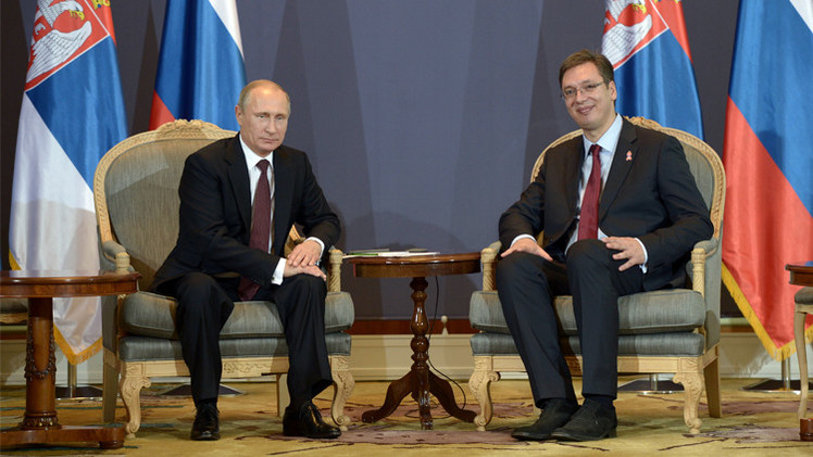 روسيا وصربيا توقعان حزمة اتفاقيات خلال زيارة بوتين لبلغراد