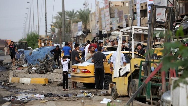 مقتل نحو 50 وإصابة أكثر من 120 شخصا في تفجيرات ببغداد