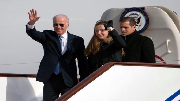 تسريح نجل نائب الرئيس الأمريكي من سلاح البحرية لتعاطيه المخدرات
