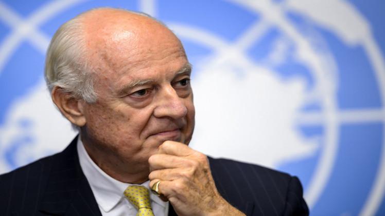 موسكو: ننتظر من المبعوث الخاص الى سوريا أفكارا عن استئناف المفاوضات
