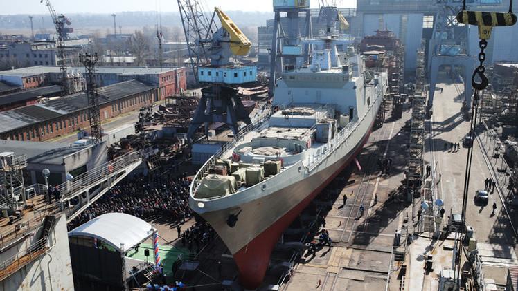 ثلاث سفن جديدة للأسطول البحري الحربي الروسي