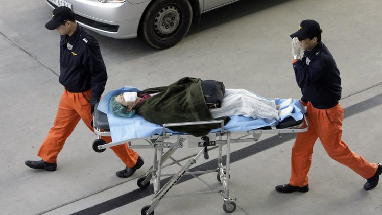 14 قتيلا و 11 جريحا في حادث انهيار بمسرح في الهواء الطلق في كوريا الجنوبية (فيديو)