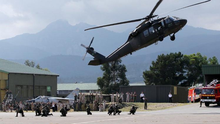 قوات خاصة سعودية وفرنسية تجري تدريبات مشتركة في جبال الألب