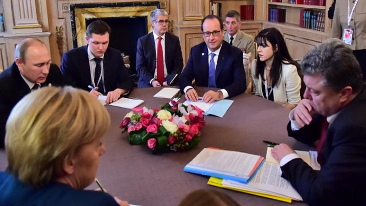بوتين يصف اجتماعه الثاني مع قادة أوروبيين حول أوكرانيا بـ