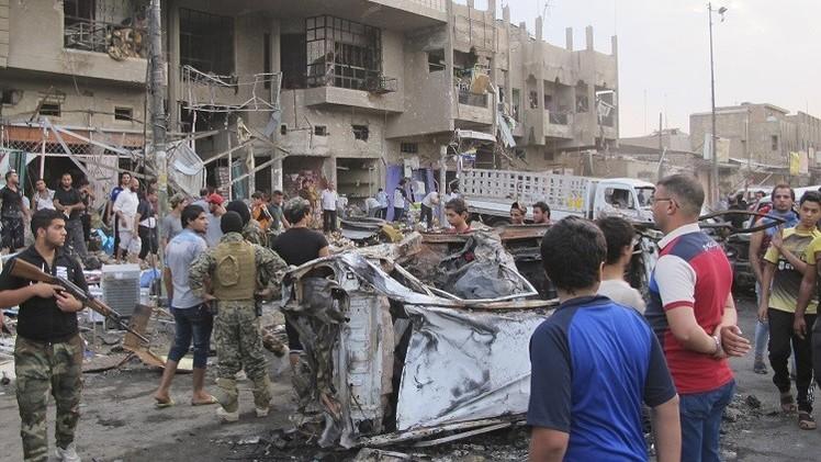مقتل 23 شخصا بتفجير 3 سيارات مفخخة في بغداد