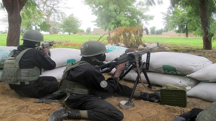 مقتل 107 مقاتلين من