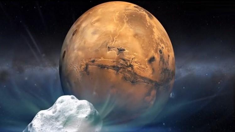 علماء الفلك بانتظار لقاء مذنب مع المريخ