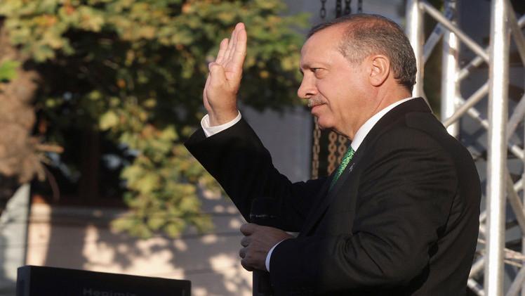 أردوغان يجدد طرح أربعة شروط للانضمام الى التحالف ضد