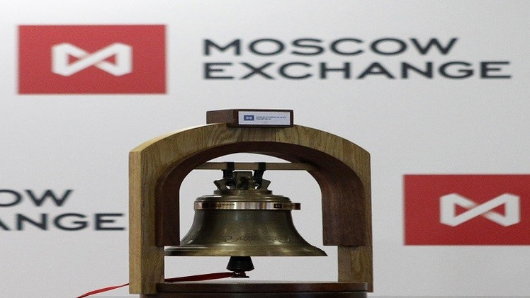 بورصة موسكو تنهي تداولات الأسبوع في المنطقة الخضراء