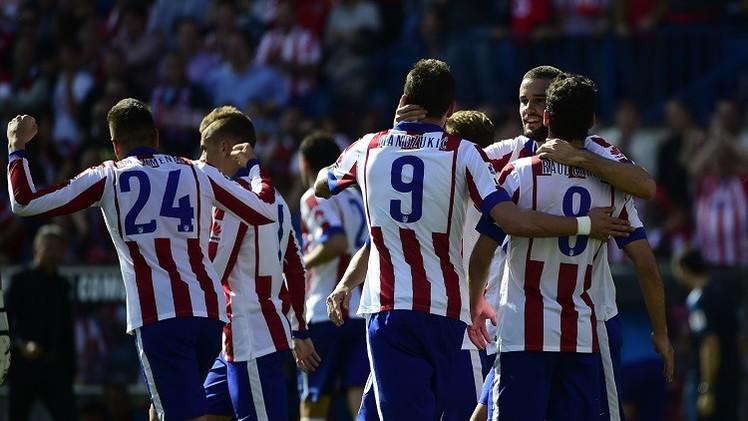 أتلتيكو يتفوق على إسبانيول 2-0 في الدوري الإسباني