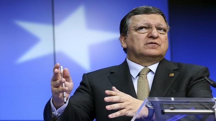 باروزو: منطقة اليورو لا تتجه للركود