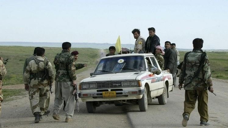 تركيا تسمح لمقاتلي البيشمركة بدخول عين العرب عبر أراضيها