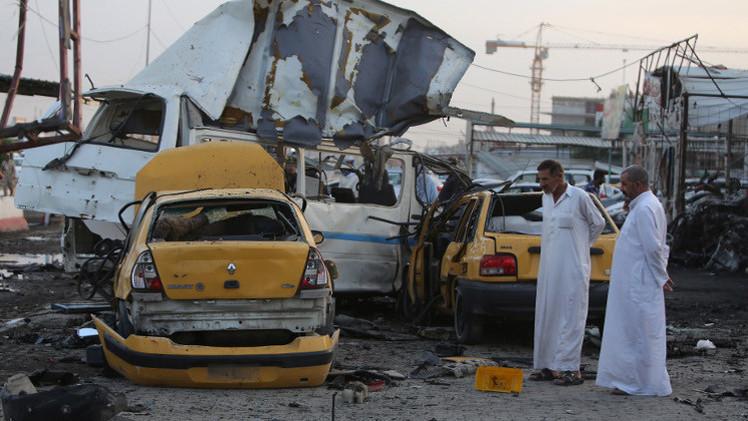 عشرات القتلى والجرحى في تفجير مفخخات في كربلاء وبغداد
