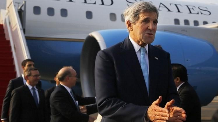 كيري: إسقاط أسلحة لأكراد عين العرب ليس تغييرا في سياسة واشنطن تجاه أنقرة