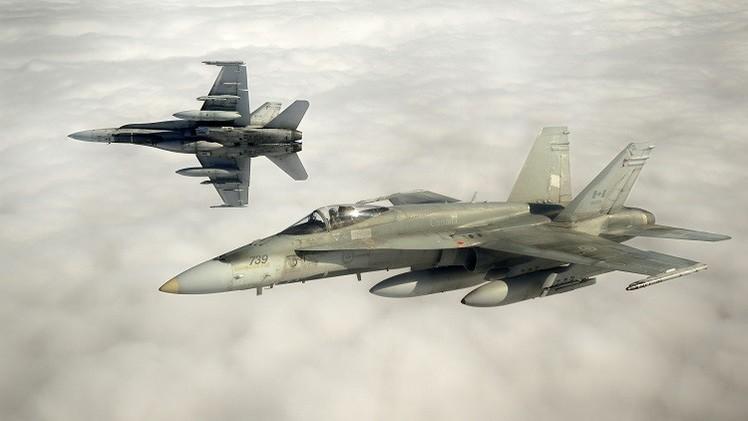 كندا ترسل 6 مقاتلات لمحاربة