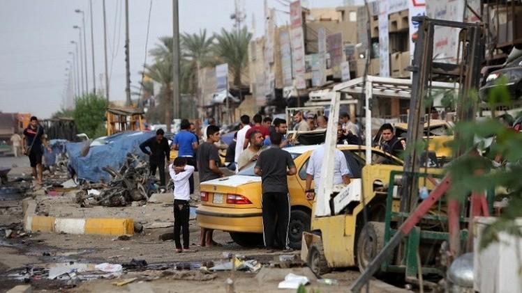 سلسلة تفجيرات تستهدف مطاعم في بغداد وتوقع عشرات الضحايا