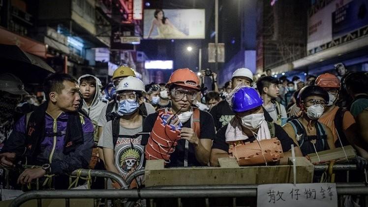 عقد أول اجتماع بين حكومة هونغ كونغ والطلبة المحتجين