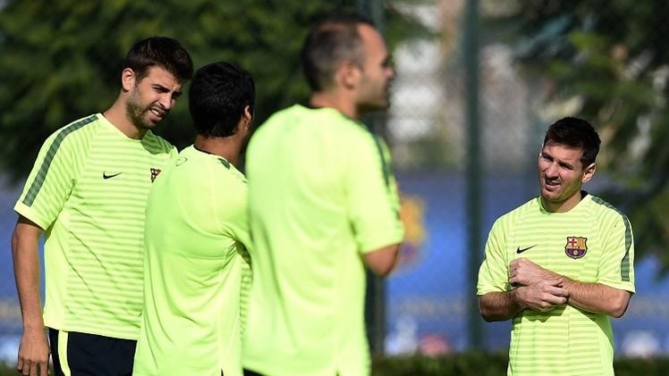 برشلونة يلاقي أياكس على أمل تحسين موقعه في دوري الأبطال