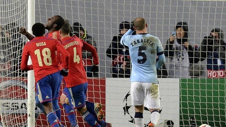 تسيسكا يقتنص تعادلا ثمينا من مانشستر سيتي في دوري أبطال أوروبا