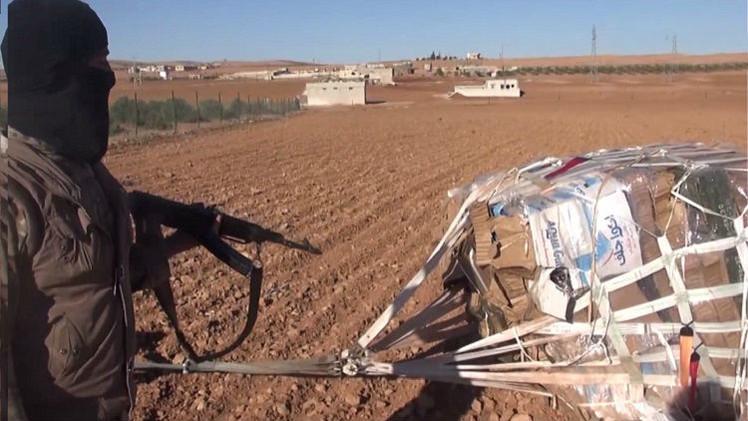 البنتاغون: إحدى حزم الإمدادات العسكرية ربما سقطت بيد