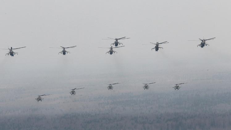 موسكو تنفذ كامل عقد المروحيات الأفغانية الموقع مع واشنطن