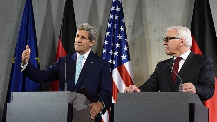 كيري: رفع العقوبات عن إيران مرتبط بموقف الكونغرس