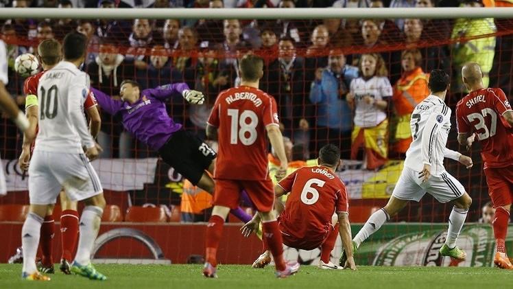 ريال مدريد يسحق ليفربول على أرضه في دوري أبطال أوروبا