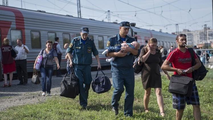 روسيا ترصد 6.5 مليار روبل للاجئين الأوكرانيين