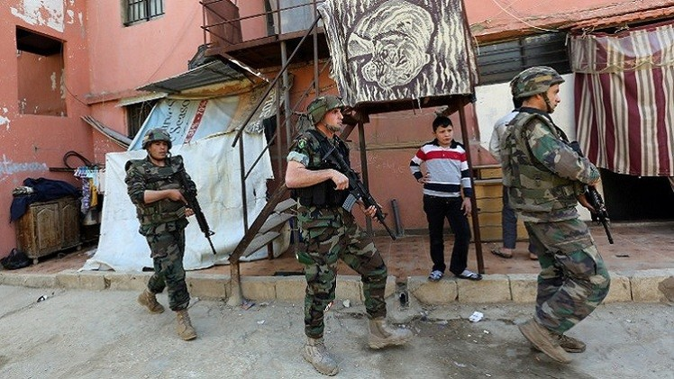 الجيش اللبناني يقتل 3 مسلحين ويقبض على كادر من