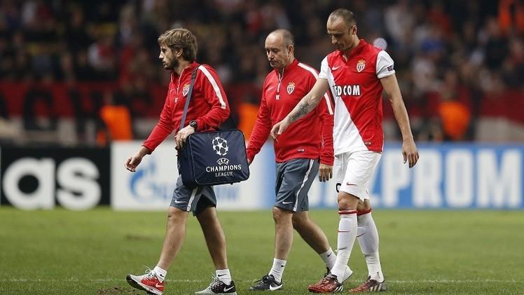 بيرباتوف يغيب عن موناكو لثلاثة أسابيع