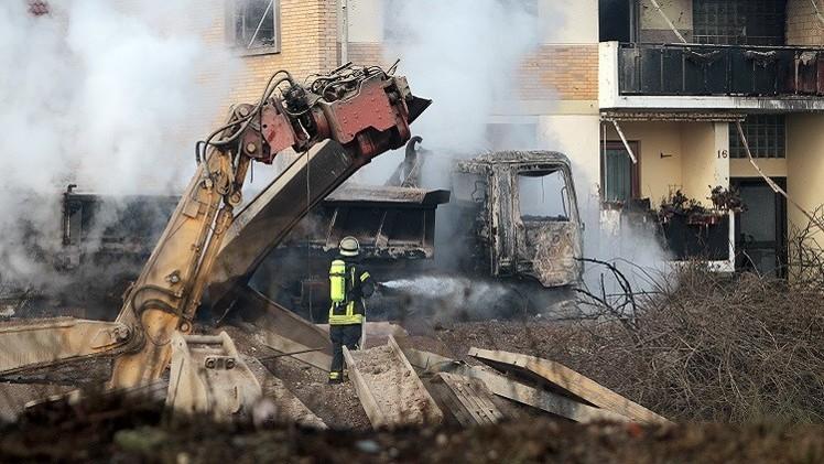 قتيل و26 جريحا بانفجار في موقع بناء جنوب غرب ألمانيا