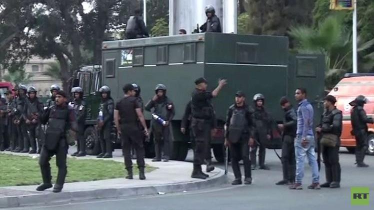 انتشار واسع لقوات الأمن المصري في الجامعات