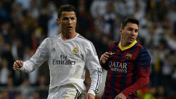 رونالدو: أنا لا ألعب ضد ميسي