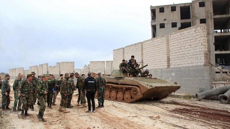 الجيش السوري يستعيد السيطرة على مورك في ريف حماة