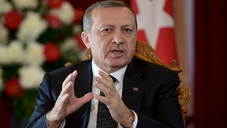 أردوغان: 200 من البيشمركة سيعبرون تركيا إلى عين العرب
