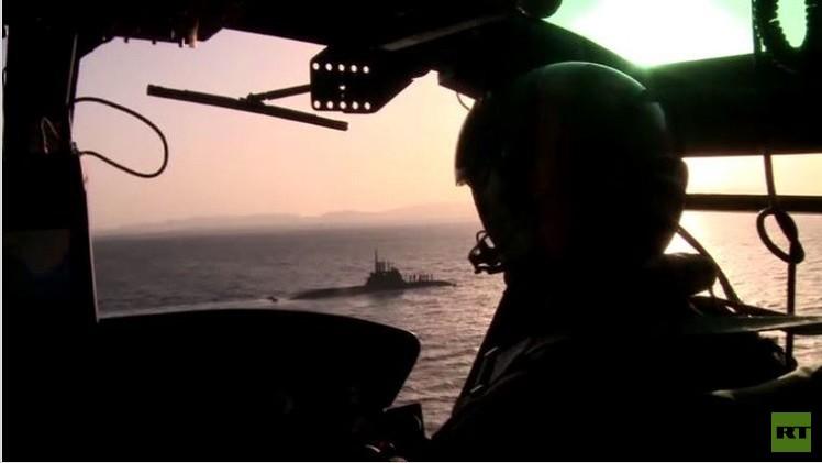 بالفيديو من المياه الدولية: تدريبات حلف الناتو في عملية