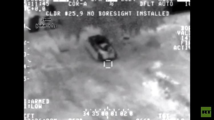بالفيديو من العراق.. صواريخ القوات الجوية العراقية تصيب أهدافها