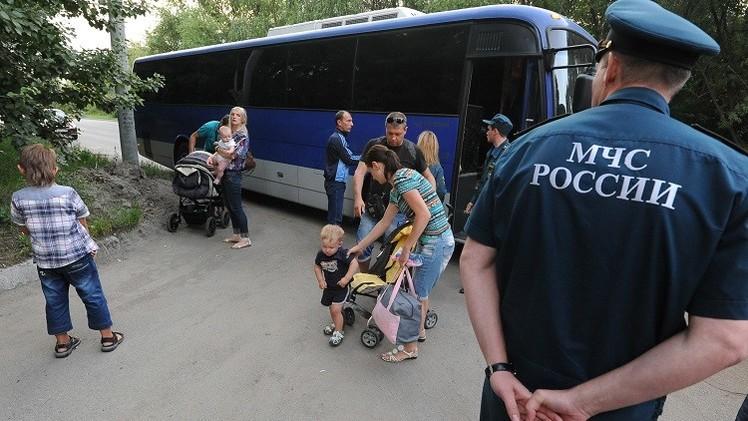 الأمم المتحدة: 430 ألف أوكراني نزحوا داخليا و387 ألفا لجأوا إلى روسيا