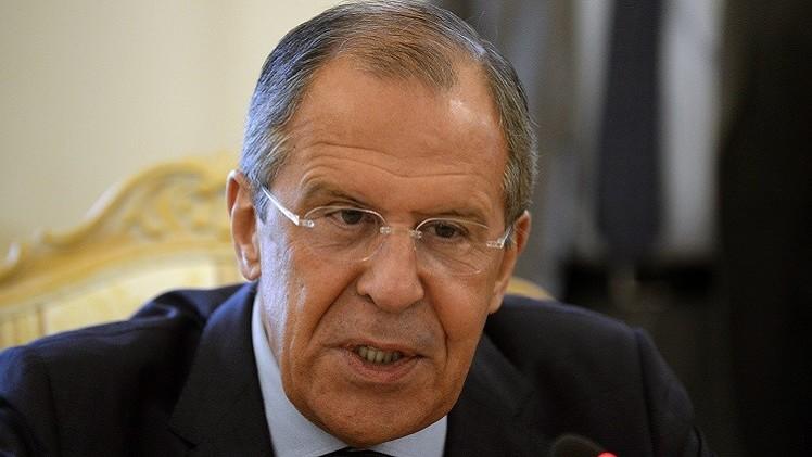 لافروف: غارات التحالف على سوريا تثير تساؤلات جدية
