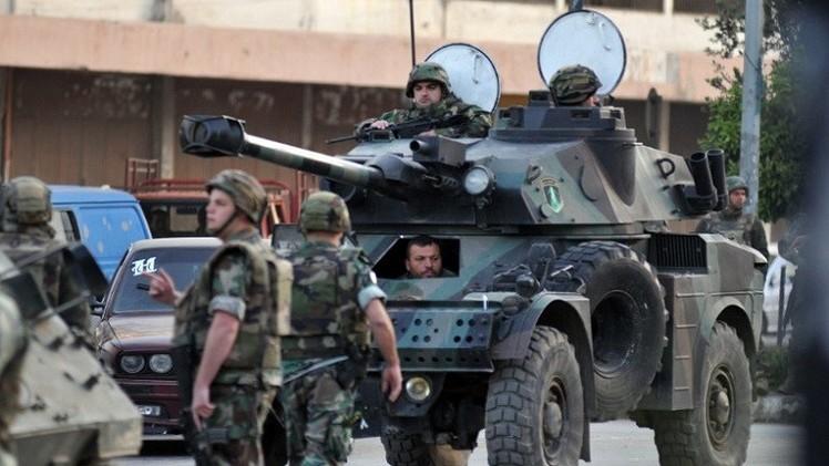 اشتباكات بين الجيش اللبناني والمسلحين في طرابلس
