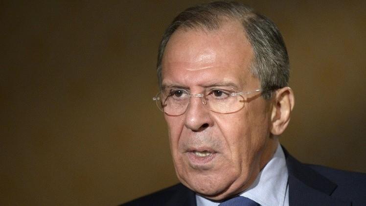 لافروف: يجب أن لا تكون شراكة أوكرانيا والاتحاد الأوروبي على حساب روسيا